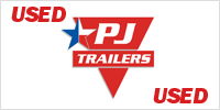 PJ TRAILER MFG logo.