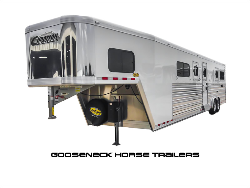Gooseneck Horse Trailers for Sale.