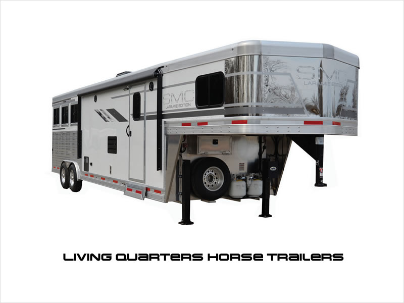 Living Quarters Horse Trailers for Sale.