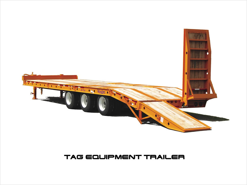 Tag Equipment Trailers for Sale.